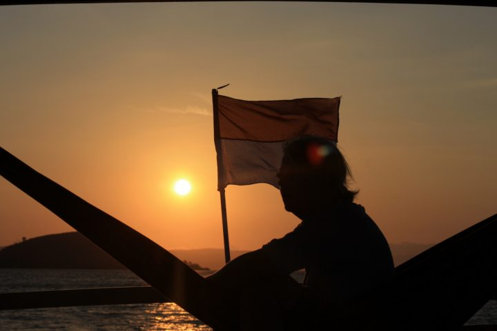 Sunset di Pulau Komodo