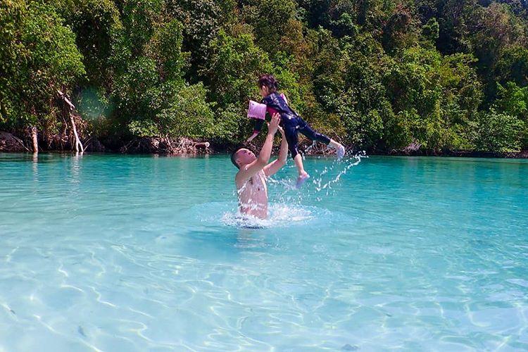 Laguna Kehe Daing, sumber ig jm_adventour
