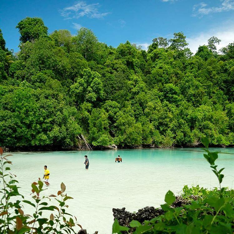 Laguna Kehe Daing, sumber ig kataomed