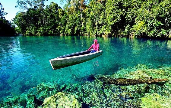 Danau Labuan Cermin, sumber ig travelxposemagz