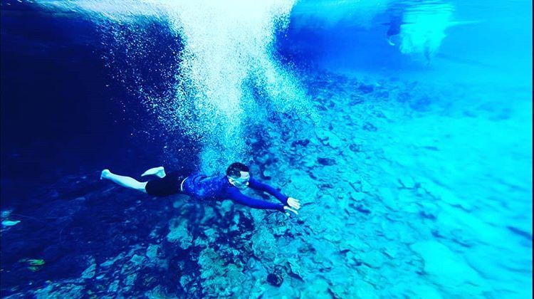 Menyelam di Danau Labuan Cermin, sumber ig rulmaarif